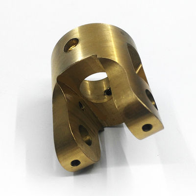High Speed CNC Brass Parts Milling Machining With Excellent Surface Finish