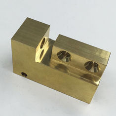 Custom CNC Brass Parts Good Surface Roughness , Milling Machining Services