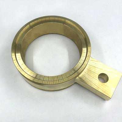 China OEM Rapid CNC Brass Parts Electrically Conductive With Longer Service Life supplier