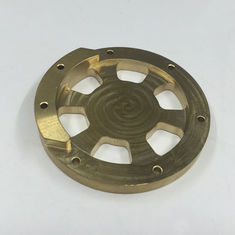 China Anodizing CNC Milling Brass Precision Parts For Light Industry Departments supplier