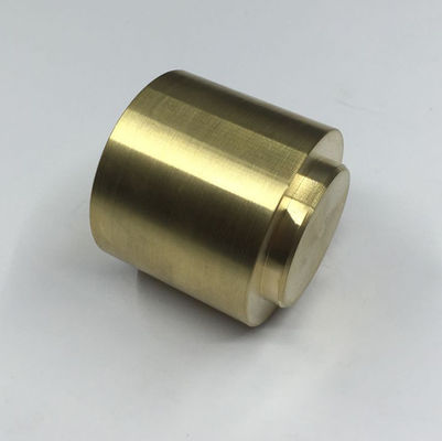 China Acid Resistance Brass Automobile Parts , Precision CNC Machined Brass Fittings factory