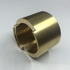 Custom Precision Brass Turned Parts Service For Instruments / Ship Parts