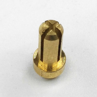 Wear Resistance CNC Brass Parts Corrosion Resistance Brass For Electrical Plugs