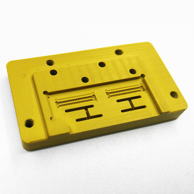 China High Speed Torlon Plastic Machining Services For Mobile Phone SIM Card Fixture supplier