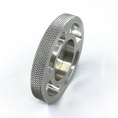China Diamond Knurling Aluminum Parts Cnc Machined Components Durable For Equipment supplier