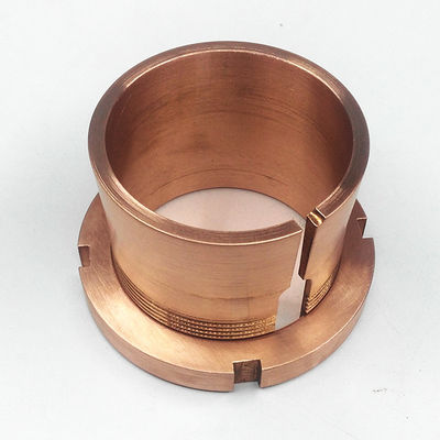China Indutrial Equipment Machining Copper CNC Turning Alloy Parts Oxidation Resistance distributor