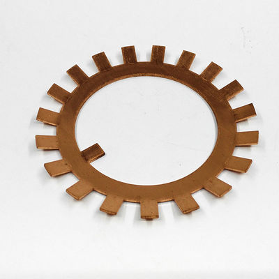 China High Precision Copper Components Finshed Used In Conductive Equipment distributor