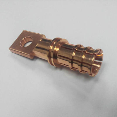 China Sample Machining Copper Custom Parts CNC Turning Milling NA Surface Treatment distributor
