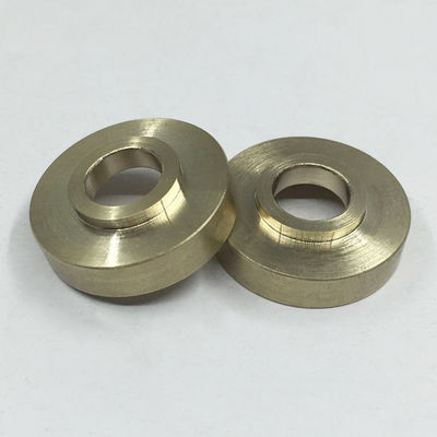 China Chemical Resistance Brass Electronic Components CNC Turning Machining Services distributor